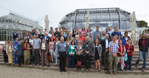 Participants of the international Caryophyllales 2015 conference in Berlin. Photograph by W.-H. Kusber.